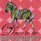 Dare to Be Different- Zebra by Oopsy daisy