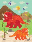 Dinosaur Fun - Triceratops by Oopsy daisy