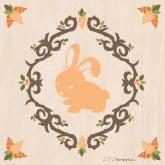 Enchanted Forest Rabbit by Oopsy daisy