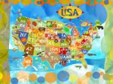 Explore the USA! by Oopsy daisy