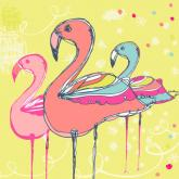 Flamingo Fun by Oopsy daisy