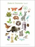 Forest Friends A to Z by Oopsy daisy