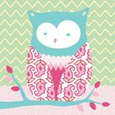 Forest Owl by Oopsy daisy