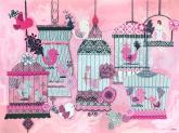 French Birdies by Oopsy daisy