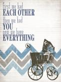 Have Everything - Blue by Oopsy daisy
