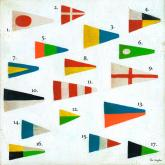 Maritime Flags  by Oopsy daisy