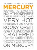 Mercury Facts by Oopsy daisy