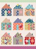 Mixed Up Houses by Oopsy daisy