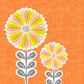 Mod Daisies by Oopsy daisy