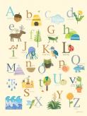 Nature's Alphabet by Oopsy daisy
