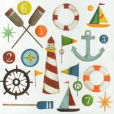 Nautical Menagerie by Oopsy daisy
