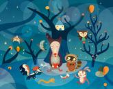 Night Critters by Oopsy daisy