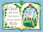 Once Upon a Time Storybook - Blue by Oopsy daisy
