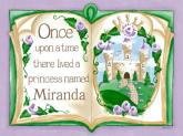 Once Upon a Time Storybook - Lavender by Oopsy daisy