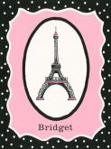Oui Paris - Eiffel Tower by Oopsy daisy