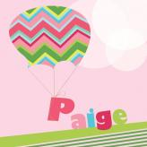 Pattern Parachute - Girl by Oopsy daisy