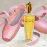 Perfume & Ballet Shoes by Oopsy daisy