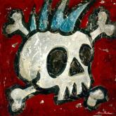 Rock and Roll (Skull) by Oopsy daisy