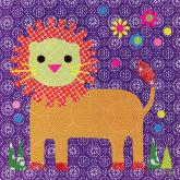 Starburst Lion by Oopsy daisy