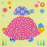 Tag Along Turtle by Oopsy daisy