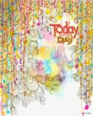 Today is the Day by Oopsy daisy