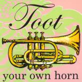 Toot Your Own Horn by Oopsy daisy