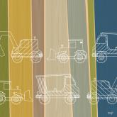 Truck Stripes by Oopsy daisy
