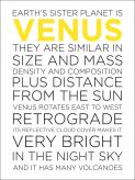 Venus Facts by Oopsy daisy
