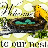 Welcome to Our Nest by Oopsy daisy