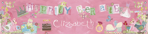 Happily Ever After Birthday Banner by Oopsy daisy