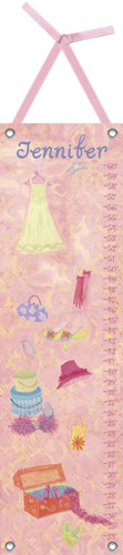 Fashion Plate Growth Chart by Oopsy daisy