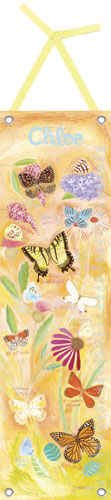 Exotic Butterflies Growth Chart by Oopsy daisy