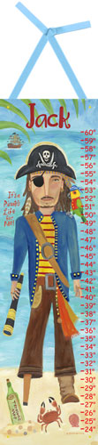 Pirate Growth Chart by Oopsy daisy
