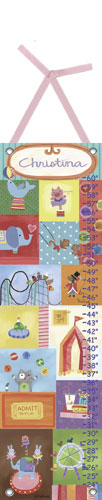 Big Top Growth Chart by Oopsy daisy