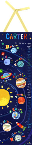 Solar System Growth Chart by Oopsy daisy