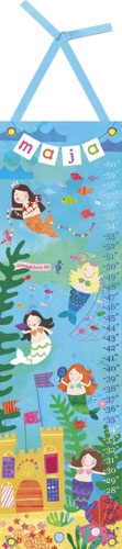 Mermaid Performance Growth Chart by Oopsy daisy