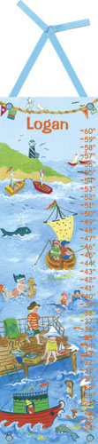 By the Sea Growth Chart by Oopsy daisy