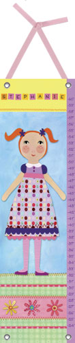 My Doll Growth Chart, 2 by Oopsy daisy