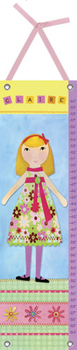 My Doll Growth Chart, 3 by Oopsy daisy