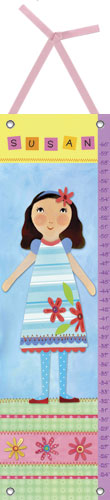 My Doll Growth Chart, 4 by Oopsy daisy