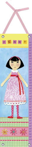 My Doll Growth Chart 5 by Oopsy daisy