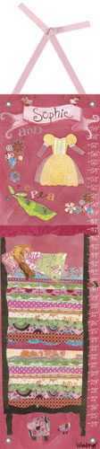 Happily Ever After, Princess & The Pea Growth Chart by Oopsy daisy