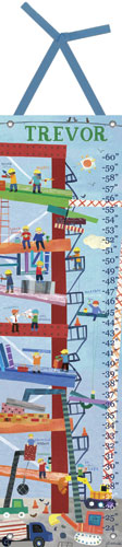 Construction Growth Chart by Oopsy daisy