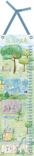 Inspired Play Growth Chart by Oopsy daisy