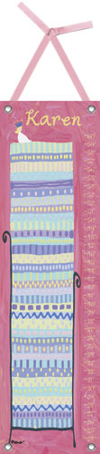 Blonde Princess & the Pea Growth Chart by Oopsy daisy
