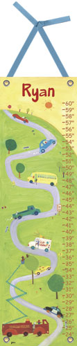 Up the Hill Growth Chart by Oopsy daisy