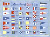 Nautical Flags Kids Mural by Oopsy daisy
