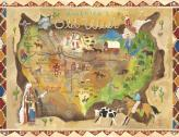 Americas Old West Kids Mural by Oopsy daisy