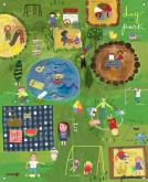 A Day at the Park Kids Mural by Oopsy daisy