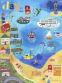 Day on the Bay Childrens' Mural by Oopsy daisy